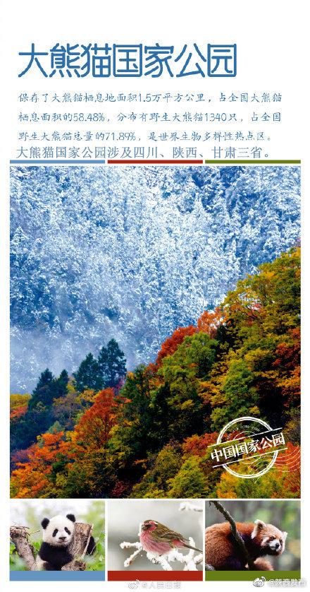 国务院同意设立三江源、大熊猫、东北虎豹、海南热带雨